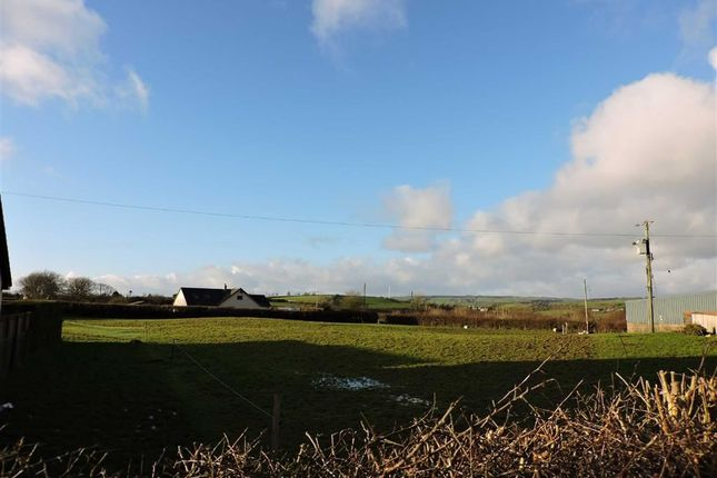 Thumbnail Land for sale in Rhydargaeau, Carmarthen