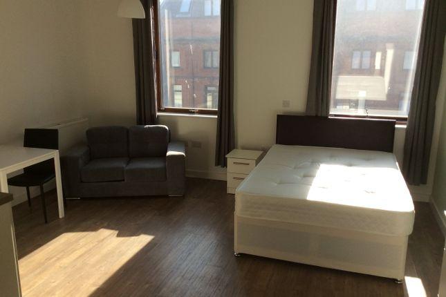 Living Room/Sleeping Area