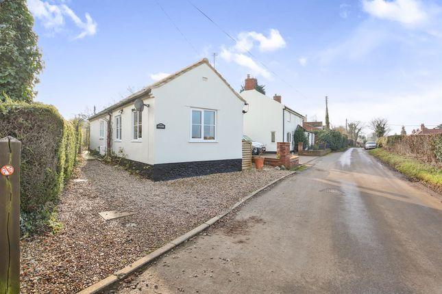 Thumbnail Detached bungalow for sale in Swardeston Lane, East Carleton, Norwich