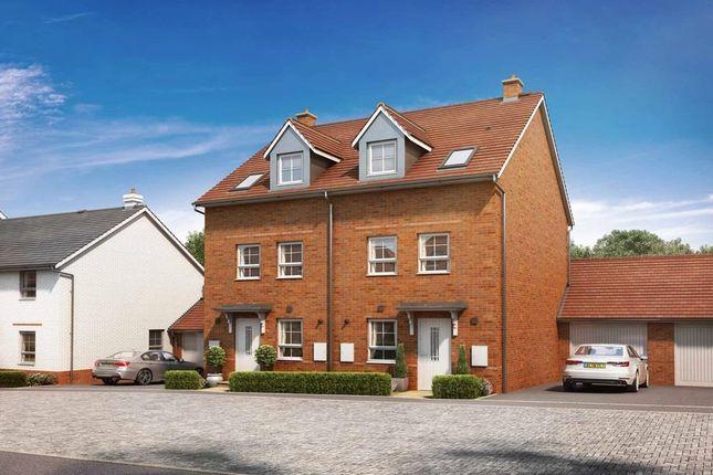 "3 bed semi-detached house for sale in ""Norbury"" at Tingewick Road, Buckingham MK18"