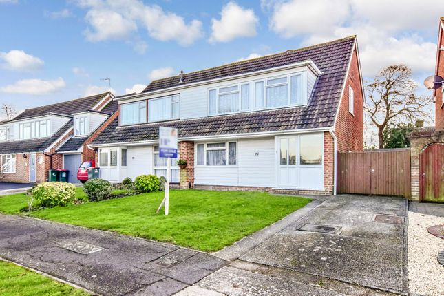 Thumbnail Semi-detached house for sale in Parkfield Close, Crawley