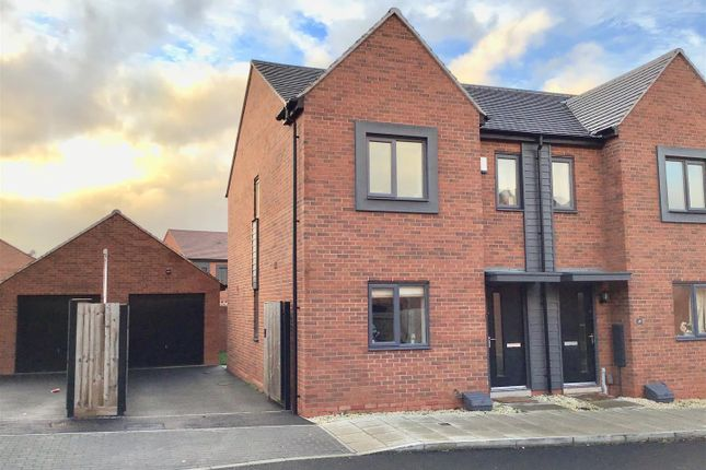 Thumbnail Semi-detached house for sale in Barclay Fold, Lawley, Telford