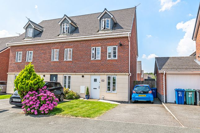 Thumbnail Town house for sale in Phoenix Place, Chapelford, Warrington, Cheshire