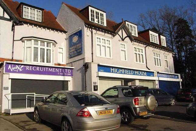 Thumbnail Office to let in Stratford Road, Hall Green, Birmingham