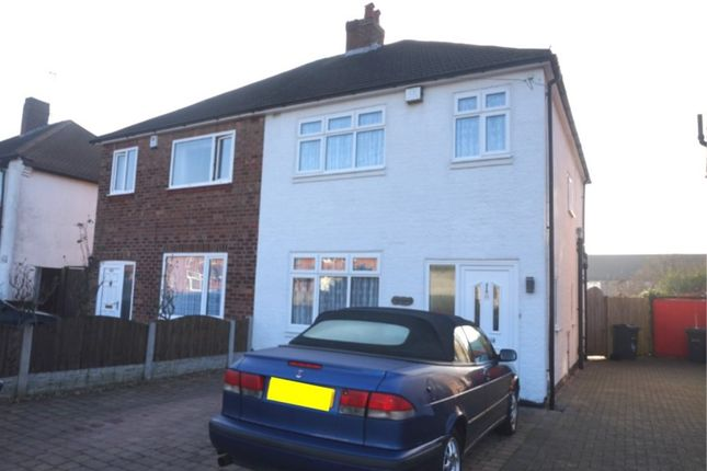 Thumbnail Semi-detached house for sale in Darley Avenue, Hodge Hill, Birmingham