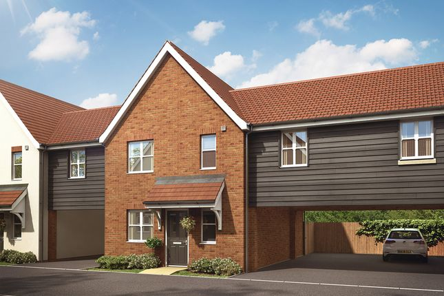 """Thumbnail Semi-detached house for sale in """"The Chester Link"""" at Hollow Lane, Broomfield, Chelmsford"""