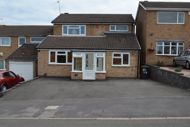 Thumbnail Detached house for sale in Darlington Road, Off Groby Road, Leicester
