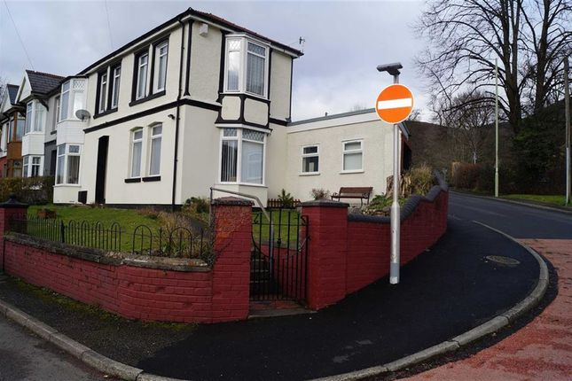 Thumbnail End terrace house for sale in Cardiff Road, Mountain Ash