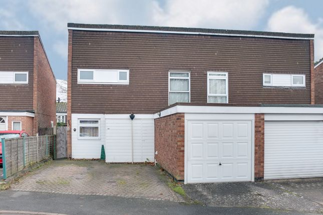 Thumbnail Semi-detached house for sale in Harbury Close, Redditch