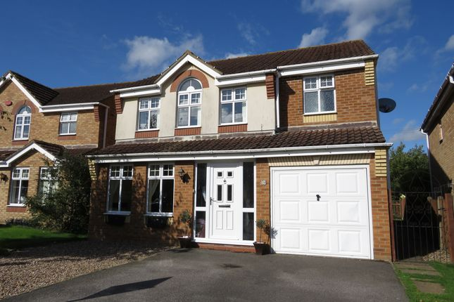 Thumbnail Detached house for sale in Warwick Close, Saxilby, Lincoln