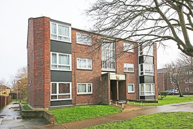Thumbnail Flat to rent in Sheldrick Close, Colliers Wood, London