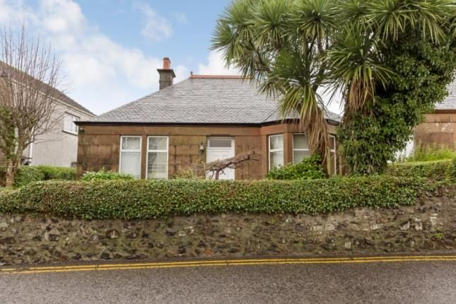 Thumbnail Bungalow for sale in Waterside Street, Largs, North Ayrshire