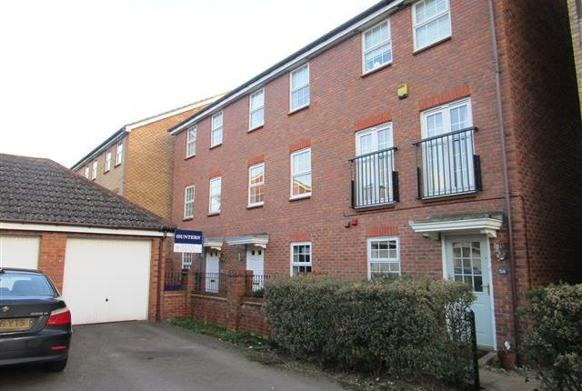 Thumbnail Town house to rent in Cleveland Way, Stevenage