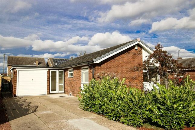 Thumbnail Detached bungalow for sale in Elm Close, Saxilby, Lincoln