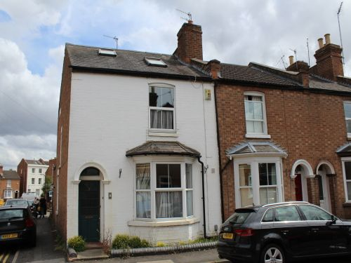 Thumbnail End terrace house to rent in Northcote Street, Leamington Spa