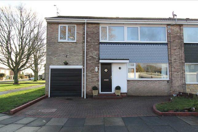 Thumbnail Semi-detached house for sale in Minting Place, Whitelea Dale, Cramlington