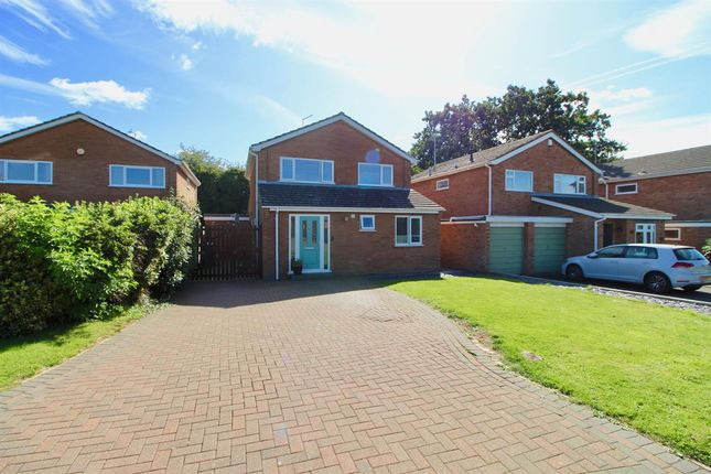Thumbnail Detached house to rent in Hardwick Court, Longthorpe, Peterborough