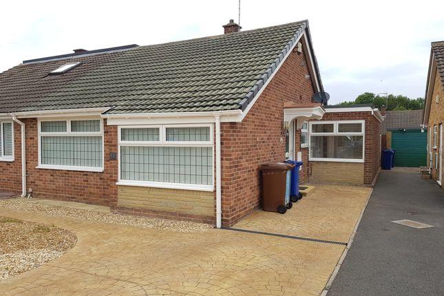 2 bed semi-detached bungalow to rent in Merlin Crescent, Branston, Burton-On-Trent DE14