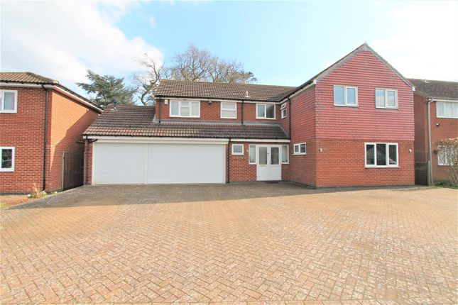 Thumbnail Detached house for sale in Cottesmore Avenue, Oadby, Leicester