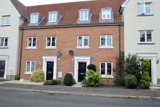 Thumbnail Town house for sale in Meadow Crescent, Purdis Farm, Ipswich