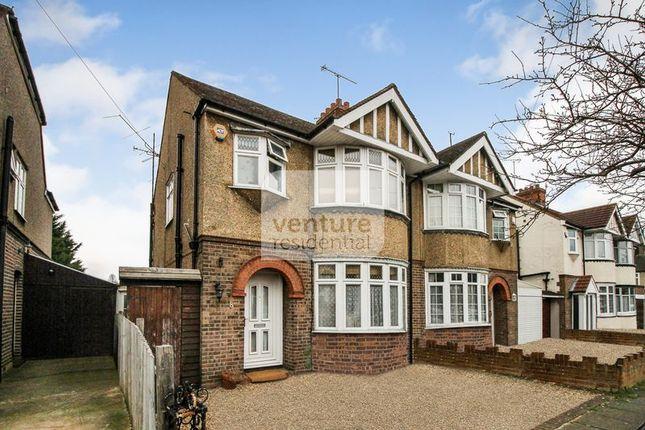 Thumbnail Semi-detached house for sale in St. Michaels Crescent, Luton