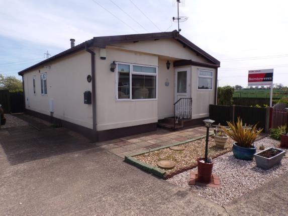 Thumbnail Mobile/park home for sale in Mill Farm Park, Bulkington, Bedworth