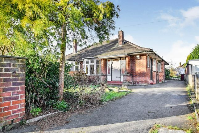 Thumbnail Bungalow for sale in Sandacre Road, Manchester, Greater Manchester