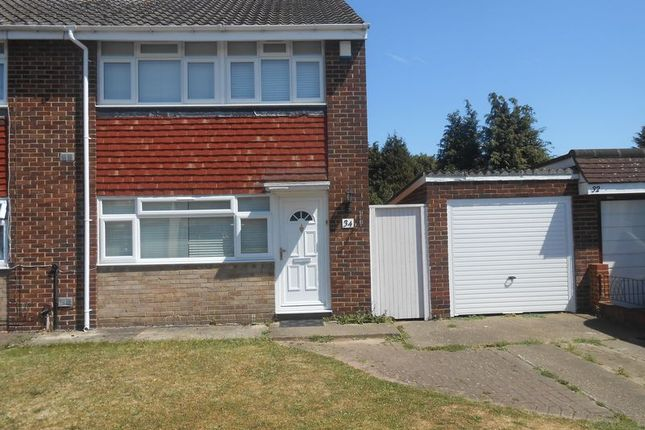 Thumbnail Semi-detached house to rent in Thames Road, Langley, Slough