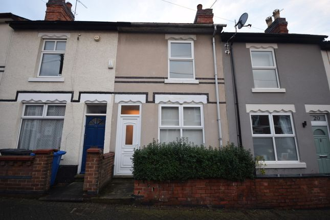 Thumbnail Terraced house to rent in Crown Street, Derby