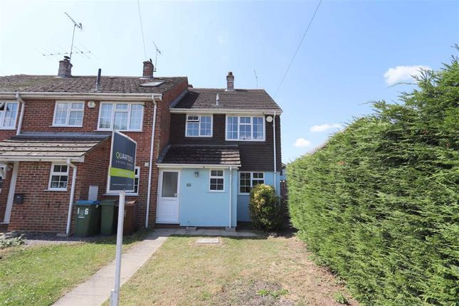 Thumbnail End terrace house for sale in Church Road, Slapton, Leighton Buzzard