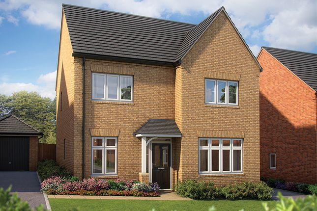 "Thumbnail Detached house for sale in ""The Aspen"" at Irthlingborough Road, Wellingborough"