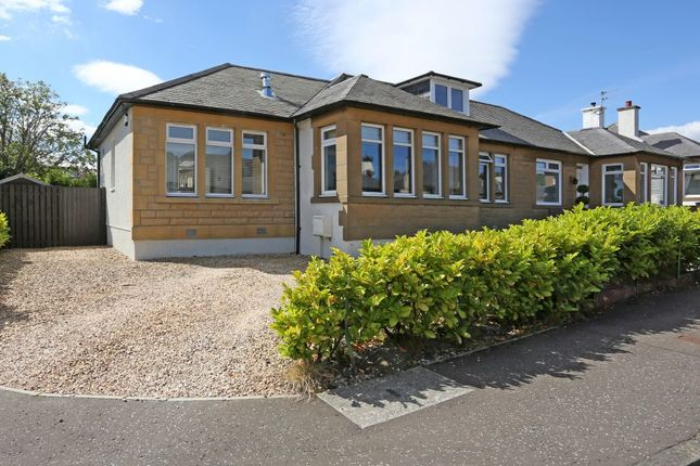 Thumbnail Semi-detached bungalow for sale in 5 Hamilton Gardens, Duddingston, Edinburgh
