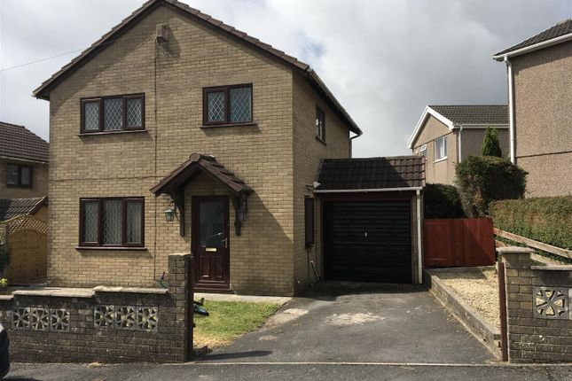 Thumbnail Detached house for sale in Dythel Park, Penymynydd, Llanelli