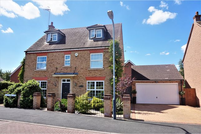 Thumbnail Detached house for sale in Lambourne Close, Bidfod On Avon, Alcester