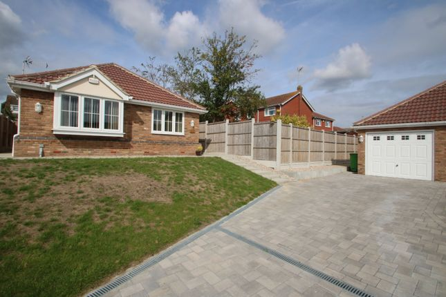 Thumbnail Detached bungalow for sale in Milestone Close, Hawkwell, Hockley