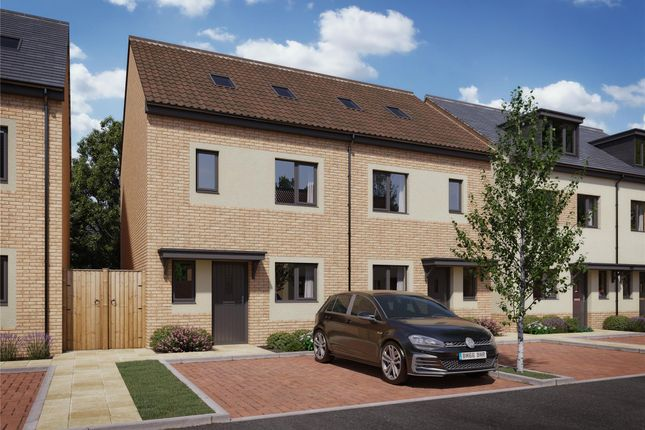 Thumbnail End terrace house for sale in Plot 1 Strawberry Fields, Mendip Road, Yatton, Bristol