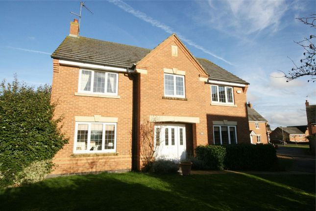 Thumbnail Detached house for sale in Gladiator Close, Wootton Fields, Northampton