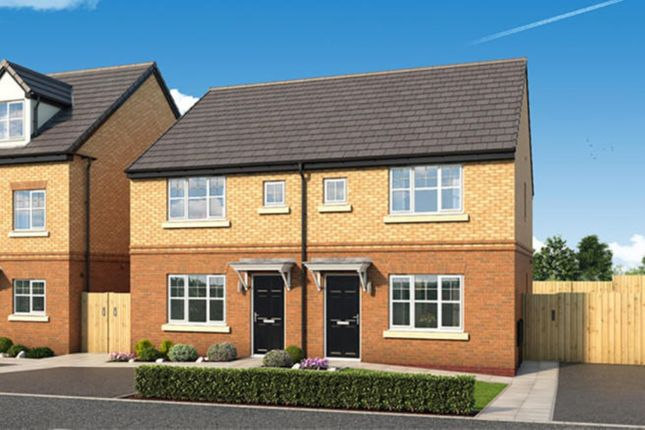 Thumbnail Semi-detached house for sale in The Leathley Whalleys Road, Skelmersdale, Lancashire