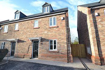 Thumbnail Semi-detached house for sale in St. Wilfrids Court, Church Street, Davenham, Northwich