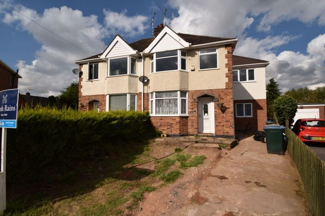 Thumbnail Semi-detached house for sale in Hermits Croft, Cheylesmore, Coventry