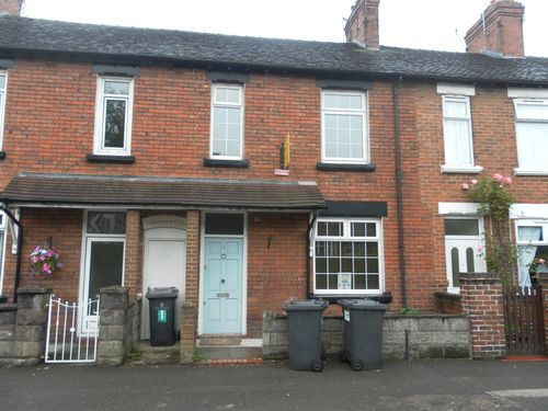 Thumbnail Terraced house to rent in Friarswood Road, Newcastle- Under- Lyme, Staffordshire