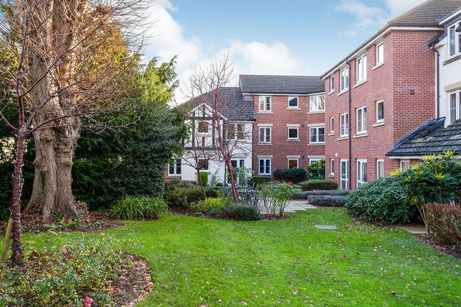Communal Gardens of Castle Court, Hadlow Road, Tonbridge, Kent TN9