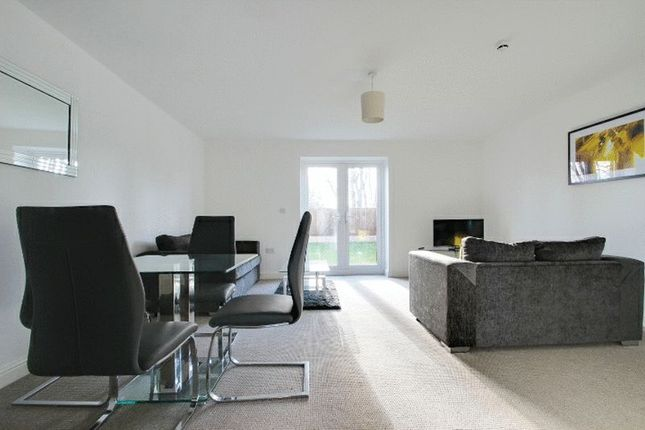 Thumbnail Town house to rent in Queens Court, Basford, Stoke-On-Trent