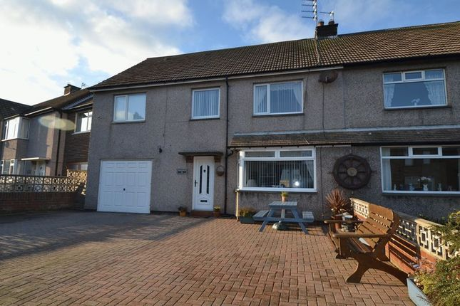 Thumbnail Semi-detached house for sale in Ladbroke Street, Amble, Morpeth
