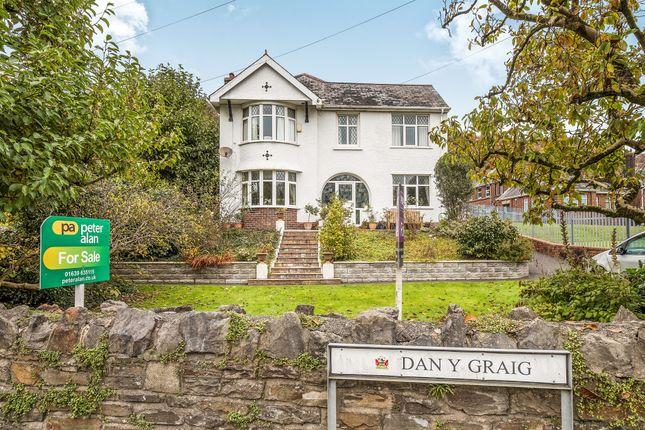 Thumbnail Detached house for sale in Danygraig Terrace, Cadoxton, Neath