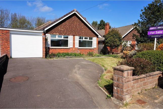 Thumbnail Detached bungalow for sale in Warwick Close, Lee-On-The-Solent