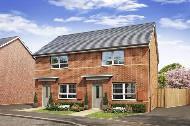 """Thumbnail Semi-detached house for sale in """"Roseberry"""" at Blenheim Avenue, Brough"""
