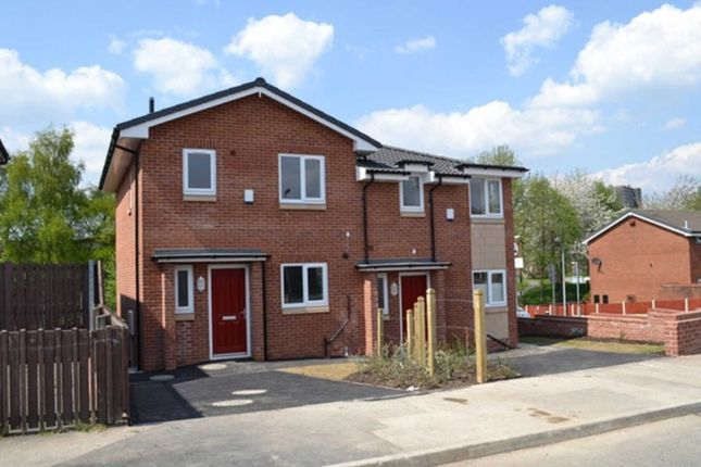 Thumbnail Semi-detached house for sale in Baydon Avenue, Salford