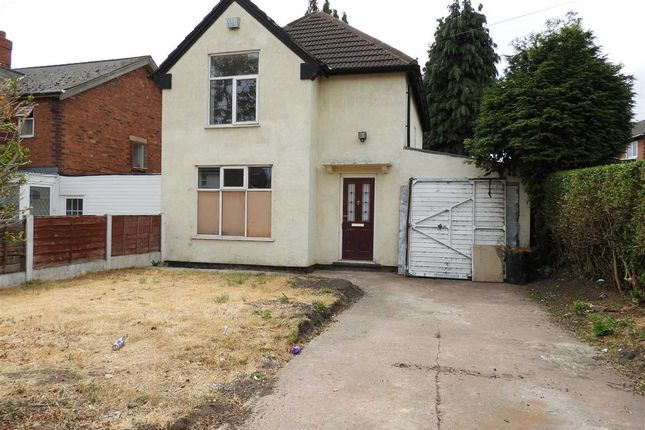 Thumbnail Detached house for sale in Chaucer Road, Walsall
