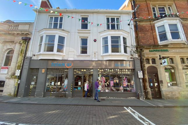 Thumbnail Commercial property for sale in High Street, Cardigan
